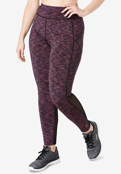 e122a01d871 Mesh Panel Leggings by FullBeauty SPORT®