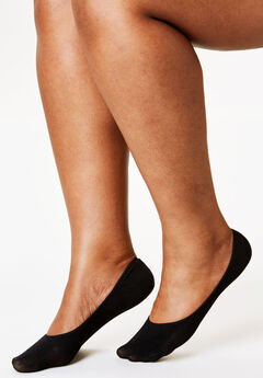 3-Pack No-Show Socks by Comfort Choice®,
