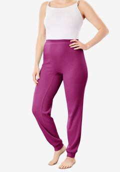 Thermal Lounge Pant , RICH MAGENTA