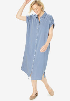 Midi Shirtdress,