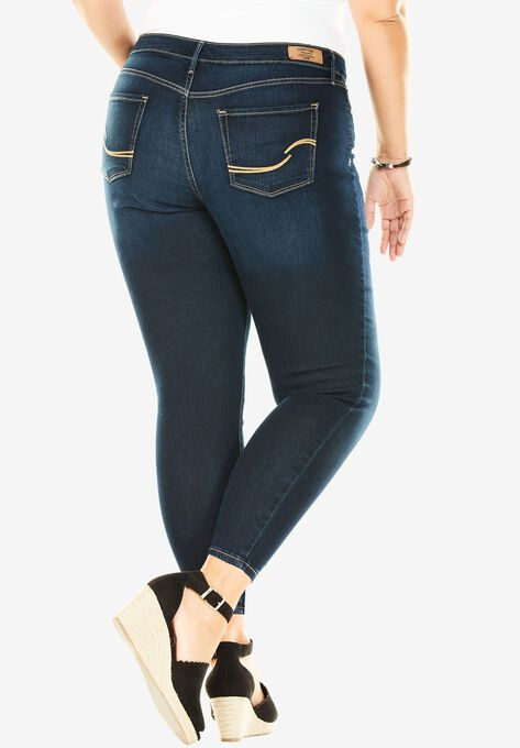 7b7244eb93286 Simply Stretch Skinny Jeans Signature by Levi Strauss   Co.  8482  Gold