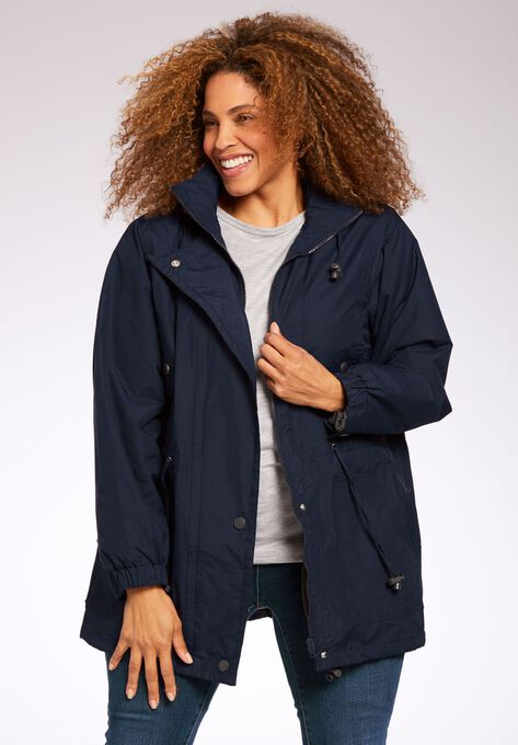 dde70f97353 Fleece-Lined Taslon® Anorak
