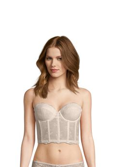 Strapless Lace Corselet,