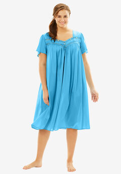 Full-Sweep Nightgown by Only Necessities®, CRYSTAL SEA, hi-res