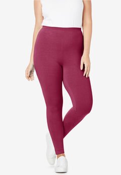 7aee1a1c03726 Plus Size Leggings & Yoga Pants for Women | Woman Within