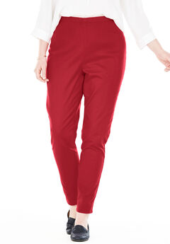 Fineline Denim Jegging, STRAWBERRY RED