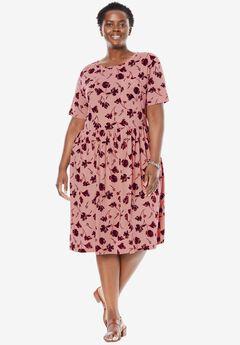 Flounce Tee Dress,