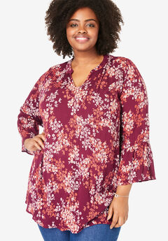 91e39325 Plus Size Shirts & Blouses for Women | Woman Within