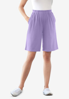 7-Day Knit Short, SOFT IRIS