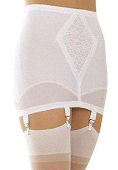 Open Bottom Girdle Medium Shaping w/ Garters,