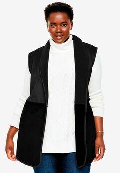 Reversible Faux Sherpa Vest,