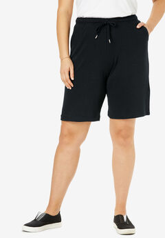 Sport Knit Short, BLACK, hi-res