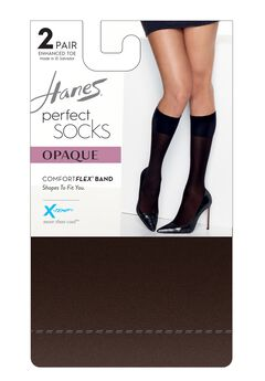 Hanes Perfect Socks Opaque Trouser,