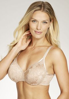 Lace Cooling Underwire Bra by Amoureuse®, NUDE, hi-res