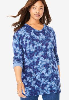 Fine Gauge Pullover V-Neck Sweater,