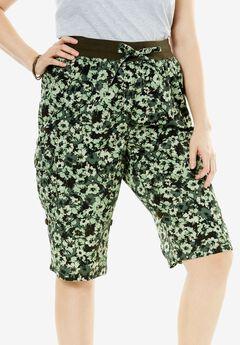 Convertible Utility Shorts, FLOWER CAMO, hi-res