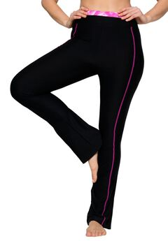 Yoga bootcut pants by FullBeauty SPORT®,
