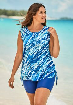 Swim Tank Coverup with Side Ties,