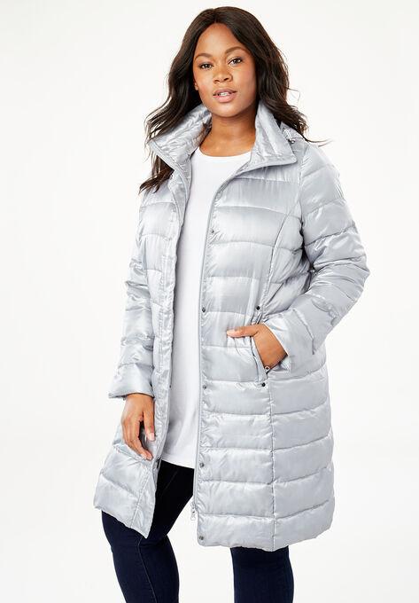 0f8c8d577e2 Long Packable Puffer Jacket