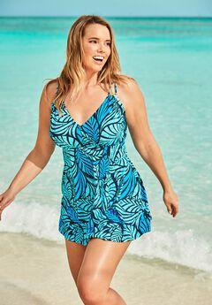 Two-Piece Swim Dress,
