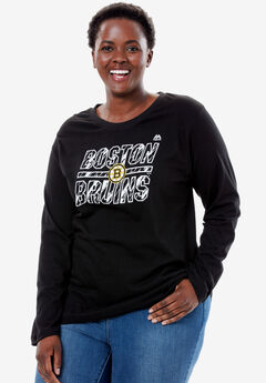 NHL Long Sleeve Tee, BRUINS