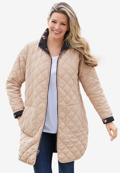 Reversible Quilted Barn Jacket,