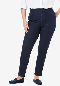 Smooth Waist Skinny Jean, INDIGO