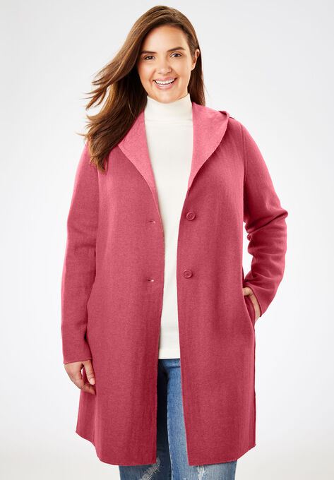 e706f03623e Double-Faced Wool-Blend Coat