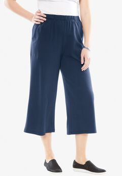 7-Day Knit Culottes,