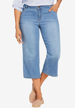 Capri Stretch Jean, LIGHT STONEWASH SANDED