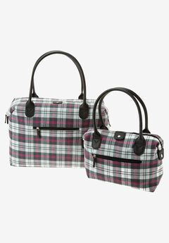 2 Piece buffalo plaid set,