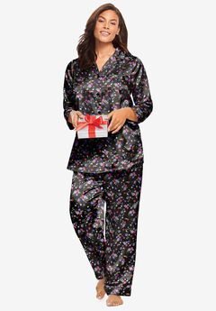 The Luxe Satin Pajama Set by Amoureuse®,