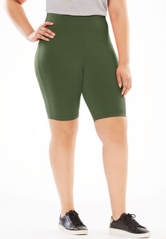 Stretch Cotton Bike Short,
