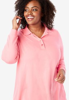 Perfect Long Sleeve Polo Tunic,