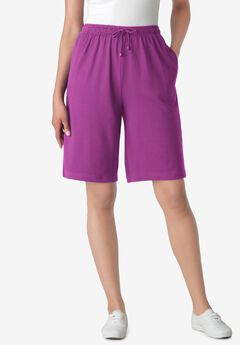 Sport Knit Short, PURPLE MAGENTA