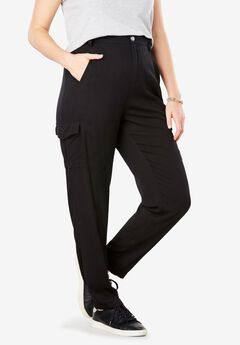 Lightweight Cargo Pocket Pant by Chelsea Studio®,