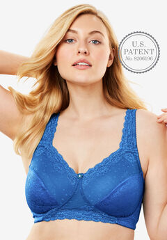 Sidewire Lace Bra by Comfort Choice®,