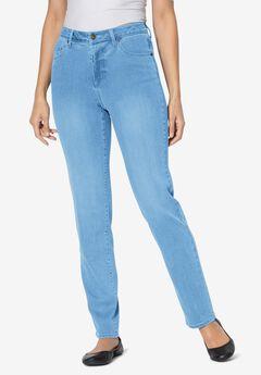 Perfect Straight Leg Jean, LIGHT WASH