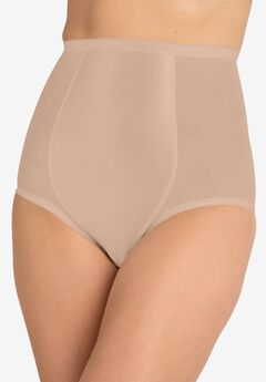 SECRET SOLUTIONS® HIGH-WAIST MESH SHAPING BRIEF,