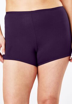 Boyshort By Comfort Choice®, RICH VIOLET