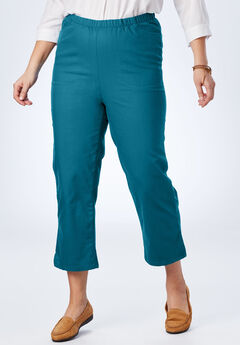Capri Fineline Jean, BLUE TEAL, hi-res