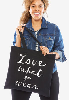 The Statement Tote, LOVE WHAT YOU WEAR, hi-res