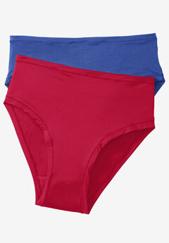 2-Pack Ultra Light High-Cut Brief by Comfort Choice®,
