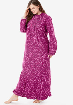 Long Flannel Nightgown by Only Necessities®,
