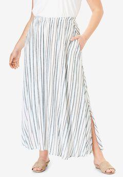 Maxi Crinkle Skirt,