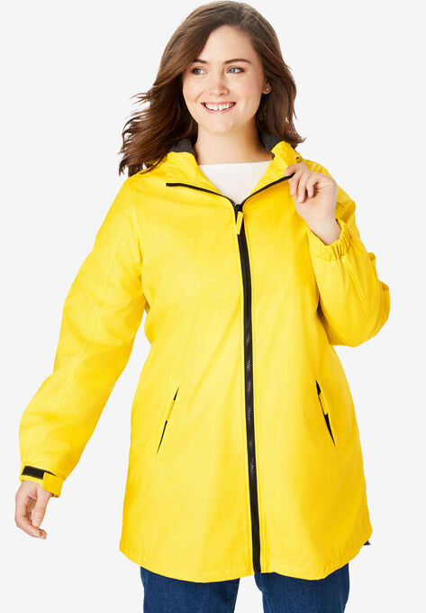 2cc379f661c Hooded Slicker Raincoat