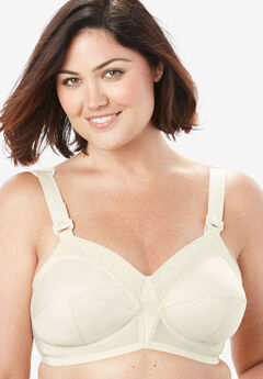Back Hook Bra by Exquisite Form®,
