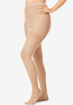 2-Pack Support Tights by Comfort Choice®, NUDE, hi-res