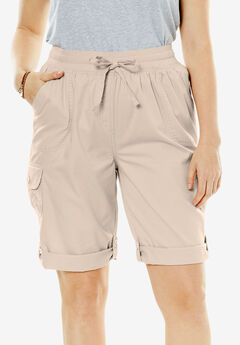 Convertible Utility Shorts, NATURAL KHAKI, hi-res