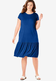 4fb590d655b Plus Size Midi Dresses for Women